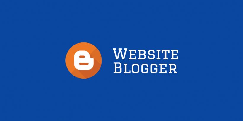 website blogger